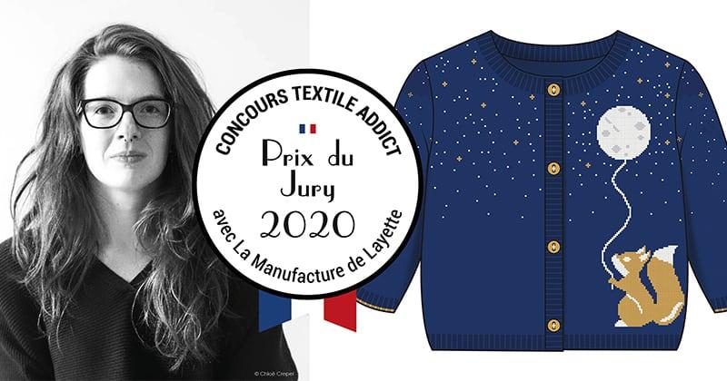 prix du jury textile addict melanie dolcerocca