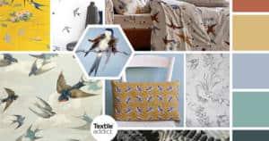 textile tendance hirondelles _TextileAddict