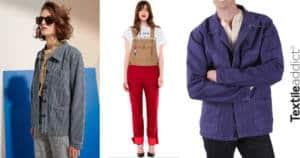 workwear vetement de travail Le Mont st Michel Lafont Kiplay Vintage_TextileAddict
