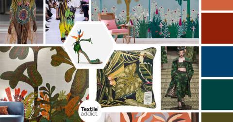 textile tendance jungle _textileaddict
