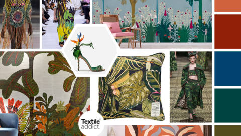 textile tendance jungle _textileaddict