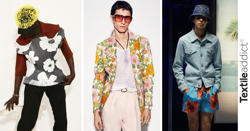 tendances 2021 fleur mode masculine_textileaddict